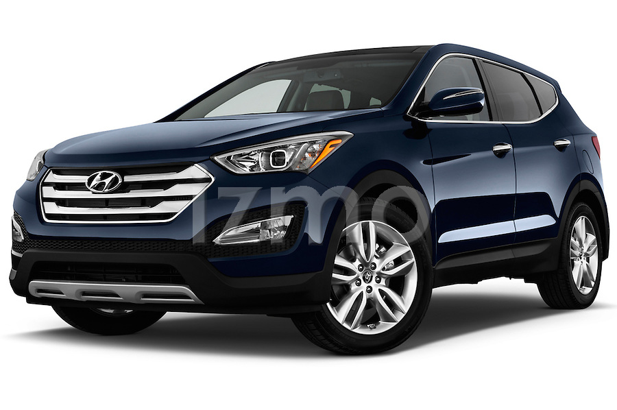 2013 Hyundai Santa Fe Sport Front Three Quarters 2 Male