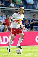 Red Bulls defender Tim Ream (5) in action...Sporting Kansas City defeated New York Red Bulls 2-0 at LIVESTRONG Sporting Park, Kansas City, Kansas.