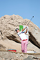 Ryo Ishikawa (JPN),.JANUARY 19, 2013 - Golf :.Ryo Ishikawa of Japan hits his tee shot at the 3rd hole during the third round of the Humana Challenge at the Jack Nicklaus Private Course at PGA West in La Quinta, California, United States. (Photo by Thomas Anderson/AFLO) (JAPANESE NEWSPAPER OUT)