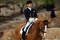 Hiroshi Hoketsu and Whisper 115 (JPN), .January 31, 2008 - Equestrian : .Dressage during the Qualifying Event Group F/G for Beijing Olympic at the Chateau la Font du Broc in Arcs-Sur- Argnes in France..(Photo by AFLO SPORT) [0006]