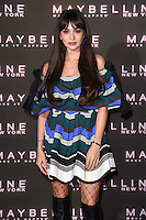 Zara Martin at the Maybelline Bring on the Night party at The Scotch of St James, London, UK. <br /> 18 February  2017<br /> Picture: Steve Vas/Featureflash/SilverHub 0208 004 5359 sales@silverhubmedia.com