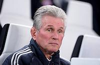 FUSSBALL  CHAMPIONS LEAGUE  VIERTELFINALE  RUECKSPIEL  2012/2013      Juventus Turin - FC Bayern Muenchen        10.04.2013 Trainer Jupp Heynckes (FC Bayern Muenchen)