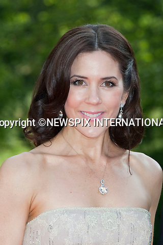 """CROWN PRINCESS MARY.Pre-Wedding Dinner hosted by the Government of Sweden in honour of H.R.H Crown Princess Victoria and Mr Daniel Westling at Eric Ericsonhallen was attended by Royalty from all over the world. Stockholm_18/06/2010..Mandatory Photo Credit: ©Dias/Newspix International..**ALL FEES PAYABLE TO: """"NEWSPIX INTERNATIONAL""""**..PHOTO CREDIT MANDATORY!!: NEWSPIX INTERNATIONAL(Failure to credit will incur a surcharge of 100% of reproduction fees)..IMMEDIATE CONFIRMATION OF USAGE REQUIRED:.Newspix International, 31 Chinnery Hill, Bishop's Stortford, ENGLAND CM23 3PS.Tel:+441279 324672  ; Fax: +441279656877.Mobile:  0777568 1153.e-mail: info@newspixinternational.co.uk"""