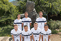 Cal Soccer M Portraits and Team Photo, August 9, 2016