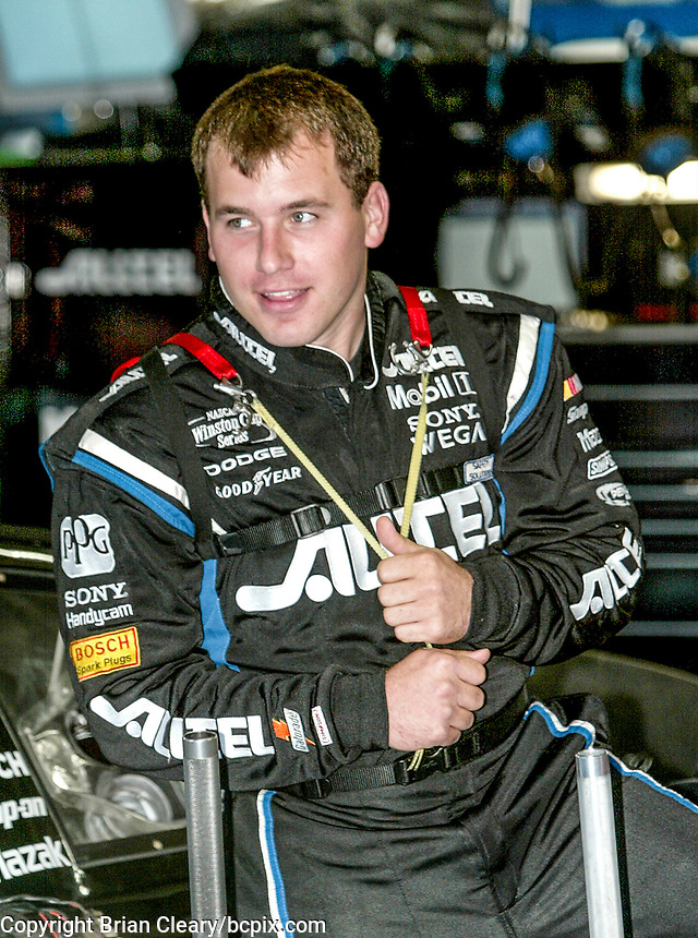 Ryan Newman, UAW-GM Quality 500, Charlotte Motor Speedway, Charlotte, NC, October 11, 2003.  (Photo by Brian Cleary/bcpix.com)