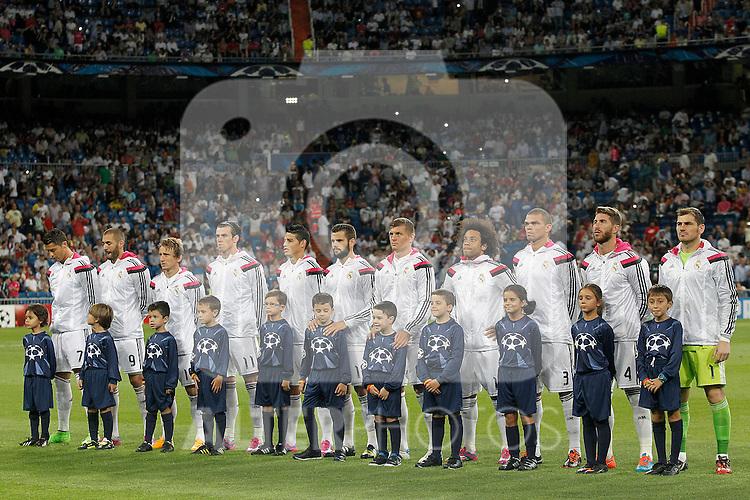 real madrid v fc basel 1893 champions league 2014 2015