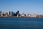 SF Skyline from Angel Island
