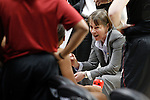 01 APR 2012:    Stanford University head coach Tara VanDerveer coaches her team during a time out in the 2012 NCAA Division I Women's Basketball Semifinals held at Pepsi Center in Denver, CO.  Stanford was defeated by Baylor University 59-47.  Trevor Brown, Jr./NCAA Photos