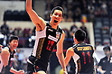 Kota Yamamura (JPN), DECEMBER 4,2011 - Volleyball : FIVB Men's Volleyball World Cup 2011,4th Round Tokyo(A) during match between Japan 0-3 Brazil at 1st Yoyogi Gymnasium, Tokyo, Japan. (Photo by Jun Tsukida/AFLO SPORT) [0003]