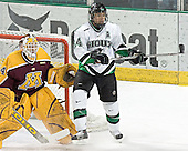 Kellen Briggs, Chris Porter - The University of Minnesota Golden Gophers defeated the University of North Dakota Fighting Sioux 4-3 on Friday, December 9, 2005, at Ralph Engelstad Arena in Grand Forks, North Dakota.