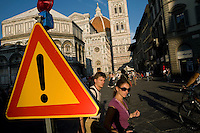 Tourists, Florence, Italy, Europe, 2007, ©Stephen Blake Farrington