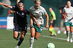 18 July 2009: Saint Louis' Elise Weber (12) and Washington's Lisa De Vanna (AUS) (17). The Washington Freedom defeated Saint Louis Athletica 1-0 at the RFK Stadium in Washington, DC in a regular season Women's Professional Soccer game.