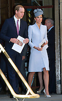 Kate, Duchess of Cambridge & Prince William attend Easter Service in Sidney - Australia