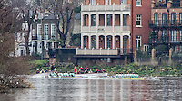 20161212 CUBC and CUWBC Trial Eights, Putney-Mortlake. London UK.