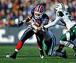2 November 2008:  Buffalo Bills' running back Fred Jackson (22) in action against the New York Jets at Ralph Wilson Stadium in Orchard Park, NY. The Jets defeated the Bills 26-17 improving their record to 5 and 3 for the season...Mandatory Photo Credit: Ed Wolfstein Photo