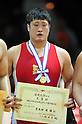 Nobuyoshi Arakida, DECEMBER 21, 2011 - Wrestling : All Japan Wrestling Championship Men's Free Style -120kg Final at 2nd Yoyogi Gymnasium, Tokyo, Japan. (Photo by Jun Tsukida/AFLO SPORT) [0003]
