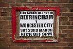 Altrincham v Worcester City 23/03/2013