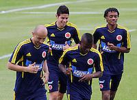 Entrenamiento selección Colombia fútbol mayores 27-05-2013