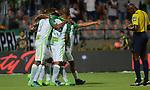 Atlético Nacional venció como local 1-0 a Once Caldas en el marco de su celebración por sus 70 años. Fecha 15 Liga Águila I-2017.