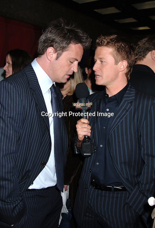 Matthew Perry and Billy Bush ..arriving for The NBC Upfront announcement of their Fall 2006-2007 Schedule on May 15, 2006 at Radio City Music ..Hall...Robin Platzer, Twin Images