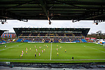 Oxford United 1 Accrington Stanley 2, 20/02/2016. Kassam Stadium, League Two. Oxford's home ground is the Kassam Stadium in Oxford and has a capacity of 12,500. United moved to the stadium in 2001 after leaving the Manor Ground, their home for 76 years. View from the North Stand. Photo by Simon Gill.