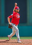 11 March 2016: Philadelphia Phillies pitcher Bobby LaFromboise on the mound during a Spring Training pre-season game against the Atlanta Braves at Champion Stadium in the ESPN Wide World of Sports Complex in Kissimmee, Florida. The Phillies defeated the Braves 9-2 in Grapefruit League play. Mandatory Credit: Ed Wolfstein Photo *** RAW (NEF) Image File Available ***
