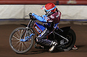 Kauko Nieminen of Lakeside Hammers - Lakeside Hammers vs Wolverhampton Wolves, Elite Shield Speedway at the Arena Essex Raceway, Purfleet - 26/03/10 - MANDATORY CREDIT: Rob Newell/TGSPHOTO - Self billing applies where appropriate - 0845 094 6026 - contact@tgsphoto.co.uk - NO UNPAID USE.