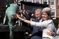 King Philippe of Belgium & Queen Mathilde of Belgium_'Joyous Entry ' in Wavre _ Belgium