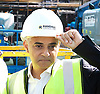 Sadiq Khan <br /> Mayor of London<br /> visits the Boxpark Croydon site adjacent to East Croydon station, Croydon, Surrey, Great Britain <br /> 1st September 2016 <br /> <br /> <br /> to promote the Boxpark Opening Festival on 29th/30th October 2016 <br /> <br /> <br /> <br /> Photograph by Elliott Franks <br /> Image licensed to Elliott Franks Photography Services