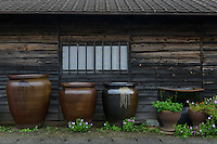 The Mori Touki kiln (Otani pottery), Naruto, Tokushima Prefecture, Japan, July 8, 2014. The city of Naruto in Tokushima Japan is famous for whirlpools that form in the Naruto Strait. It is home to Otani pottery and the first two temples on the Shikoku 88 temple pilgrimage.