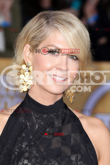 LOS ANGELES, CA - JANUARY 27: Jenna Elfman at The 19th Annual Screen Actors Guild Awards at the Los Angeles Shrine Exposition Center in Los Angeles, California. January 27, 2013. Credit: MediaPunch Inc. /NortePhoto /NortePhoto