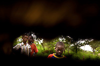 Congolese refugee children in Nzara South Sudan