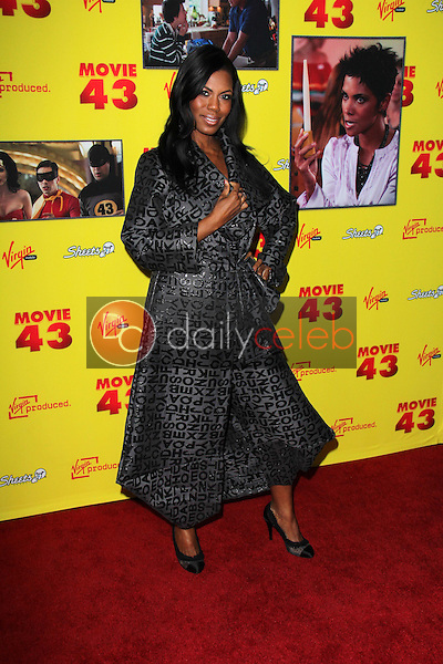 Omarosa Manigault<br /> at the &quot;Movie 43&quot; Los Angeles Premiere, Chinese Theater, Hollywood, CA 01-23-13<br /> David Edwards/DailyCeleb.com 818-249-4998