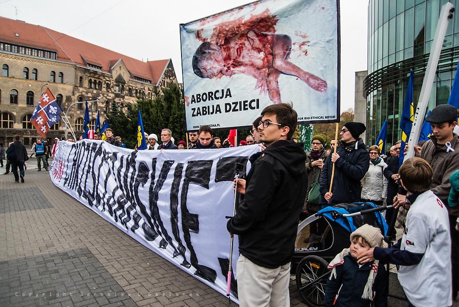 Czarno bialy poniedzialek, Poznan 24.10.16