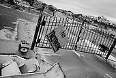 Long Beach, Mississippi.USA.December 2, 2005 ..Hurricane Katrina damage and recovery along the coast....