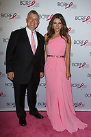 """William Lauder and Elizabeth Hurley attend The Breast Cancer Research Foundation """"Super Nova"""" Hot Pink Party on May 12, 2017 at the Park Avenue Armory in New York City."""