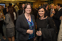 Jane Wainwright of Potter Clarkson is pictured left with Jenny Holloway of Nottingham Law School
