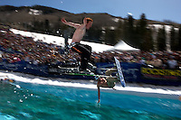 World Pond Skimming Championships. Vail, Colorado.