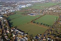 Holzvogtland: EUROPA, DEUTSCHLAND, SCHLESWIG- HOLSTEIN, REINBEK,  (GERMANY), 15.01.2012: Holzvgtland als Bauflaeche. Die landwirtschaftlich genutzte Flaeche ist acht Hektar gross und koennte zu Bauland werden.