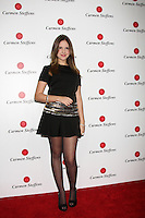 LOS ANGELES - AUG 2:  Clara Tiezzi arrives at the Carmen Steffens West Coast Flagship Store Opening at Hollywood & Highland on August 2, 2012 in Los Angeles, CA