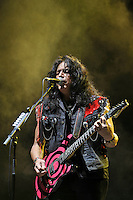 DERBYSHIRE, ENGLAND - AUGUST 12: Eddie Ojeda of 'Twisted Sister' performing at Bloodstock Open Air Festival, Catton Park on August 12, 2016 in Derbyshire, England.<br /> CAP/MAR<br /> &copy;MAR/Capital Pictures /MediaPunch ***NORTH AND SOUTH AMERICAS ONLY***