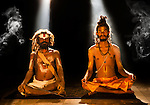 Sadhus in the spotlight, Nepal