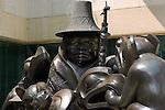 The Spirit of Haida Gwaii, The Black Canoe, Bill Reid 1991, Canadian Embassy, Washington DC