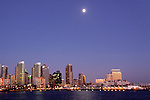USA, California, San Diego. San Diego Skyline.