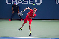 ALEXANDER ZVEREV (GER)<br /> <br /> The US Open Tennis Championships 2015 - USTA Billie Jean King National Tennis Centre -  Flushing - New York - USA -   ATP - ITF -WTA  2015  - Grand Slam - USA  <br /> <br /> &copy; AMN IMAGES