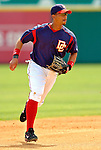 14 March 2006: Royce Clayton, infielder for the Washington Nationals, prepares for a play during a Spring Training game against the Florida Marlins. The Marlins defeated the Nationals 2-1 at Space Coast Stadium, in Viera, Florida...Mandatory Photo Credit: Ed Wolfstein..