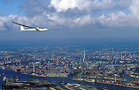Deutschland, Hamburg, Segelflugzeug Duo Discus