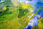 Nederland, Limburg, Gemeente Horst aan de Maas, 26-06-2014; Griendtsveen ten noorden van Helenaveen. Onderdeel van Deurnese Peel-Mariapeel. Ontstaan door het ontginnen van het oorspronkelijke hoogveengebied.<br /> Remainders of (reclaimed) peatland and bog, known as the Peel.<br /> luchtfoto (toeslag op standaard tarieven);<br /> aerial photo (additional fee required);<br /> copyright foto/photo Siebe Swart.