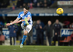 St Johnstone v Rangers&hellip;28.12.16     McDiarmid Park    SPFL<br />Graham Cummins shot is saved by Wes Foderingham<br />Picture by Graeme Hart.<br />Copyright Perthshire Picture Agency<br />Tel: 01738 623350  Mobile: 07990 594431