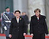 feb.12-16,The Prime Minister  Beata Szydło of Poland, media meeting with German Chanceelor Angela M
